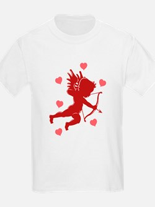 Valentine's Day Cupid Kids T-Shirt
