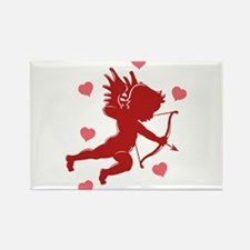 Valentine's Day Cupid Rectangle Magnet