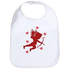 Valentine's Day Cupid Bib