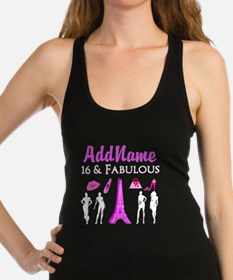 FRENCH SWEET 16 Racerback Tank Top