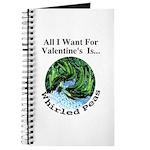 Valentine's Whirled Peas Journal
