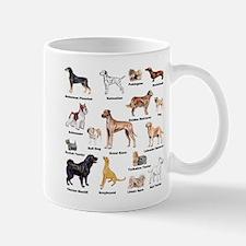 Dog Types Mugs