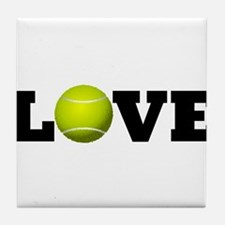 Tennis Love Tile Coaster