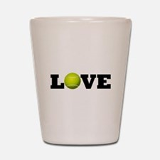 Tennis Love Shot Glass