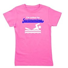 Id Rather Be Swimming Girl's Tee