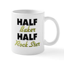 Half Baker Half Rock Star Mugs