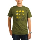 History of art Organic Men's T-Shirt (dark)