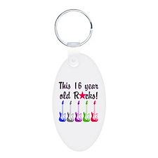ROCKIN 16 YR OLD Keychains