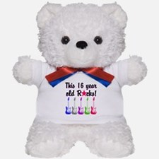 ROCKIN 16 YR OLD Teddy Bear
