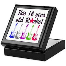 ROCKIN 16 YR OLD Keepsake Box
