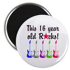 ROCKIN 16 YR OLD Magnet