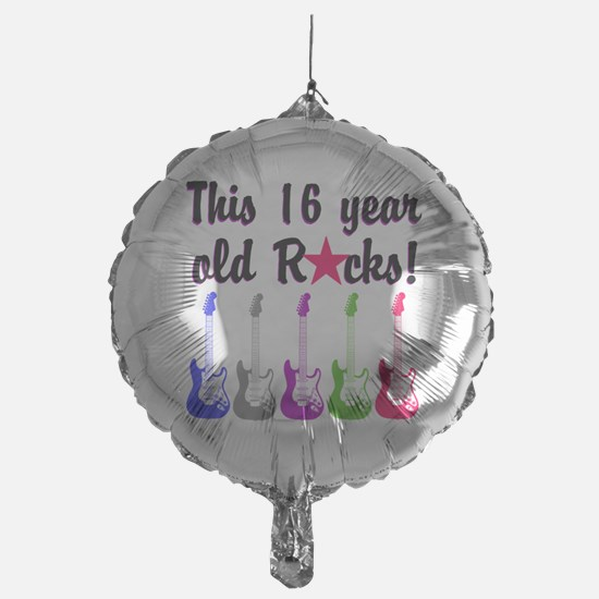 ROCKIN 16 YR OLD Balloon