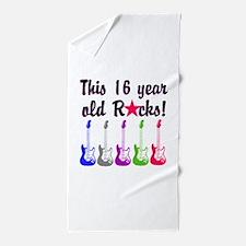 ROCKIN 16 YR OLD Beach Towel