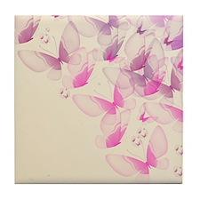 Blended Butterfly Tile Coaster