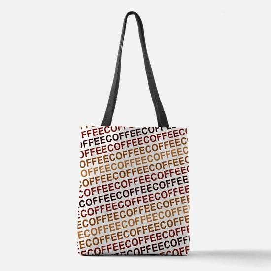 Coffee Coffee Coffee Polyester Tote Bag