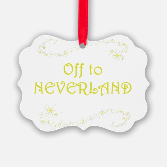 Off to Neverland Ornament