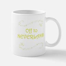 Off to Neverland Mugs