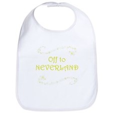 Off to Neverland Bib