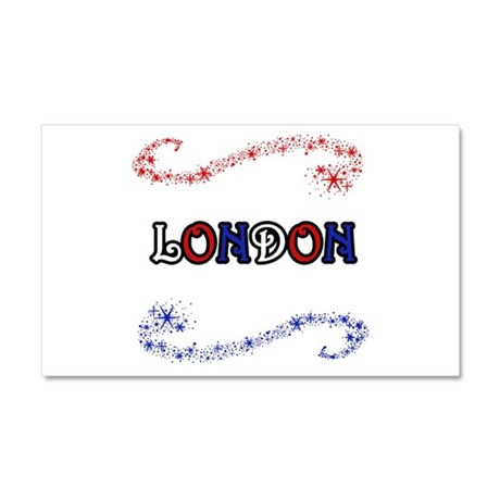 London Car Magnet 20 x 12