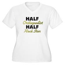 Half Orthopedist Half Rock Star Plus Size T-Shirt