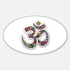 Om Aum Namaste Yoga Symbol Decal