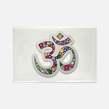 Om Aum Namaste Yoga Symbol Magnets