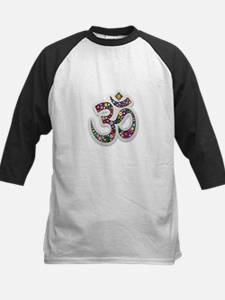 Om Aum Namaste Yoga Symbol Baseball Jersey