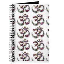 Om Aum Namaste Yoga Symbol Journal