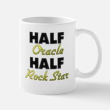 Half Oracle Half Rock Star Mugs