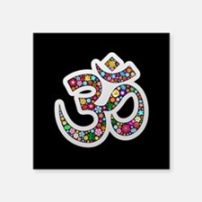 Om Aum Namaste Yoga Symbol Sticker