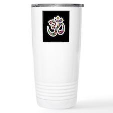 Om Aum Namaste Yoga Symbol Travel Mug