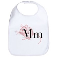 M is for Mouse Bib