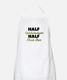 Half Ophthalmologist Half Rock Star Apron