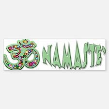 Om Aum Namaste Yoga Symbol Bumper Bumper Bumper Sticker