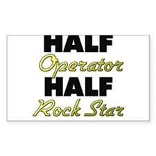 Half Operator Half Rock Star Decal