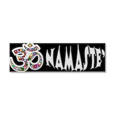 Om Aum Namaste Yoga Symbol Car Magnet 10 x 3