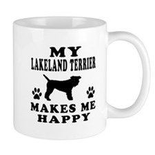 My Lakeland Retriever makes me happy Mug