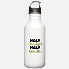 Half Oncologist Half Rock Star Water Bottle