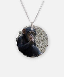 Chimpanzee003 Necklace