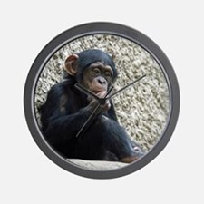 Chimpanzee003 Wall Clock