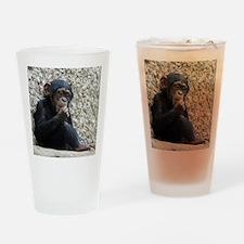 Chimpanzee003 Drinking Glass