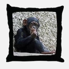 Chimpanzee003 Throw Pillow