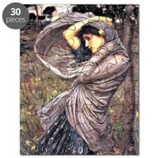 John Waterhouse painting - Boreas, 1903 Puzzle