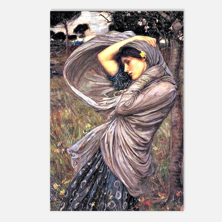 John Waterhouse painting  Postcards (Package of 8)