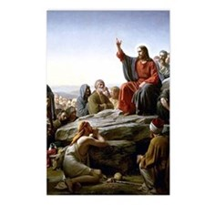 Sermon on the Mount, Bloc Postcards (Package of 8)