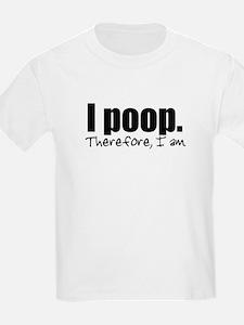 I Poop Kids T-Shirt