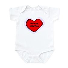 Pa is My Valentine Infant Bodysuit
