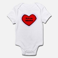 Pa is My Valentine Infant Bodysuit