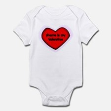 Meme is My Valentine Infant Bodysuit