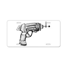 Raygun Aluminum License Plate